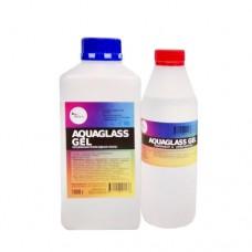 AquaGlass GEL 1500 грамм (густая смола для рисования)