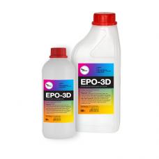 Прозрачная смола для полов Epo-3D  1,5 кг